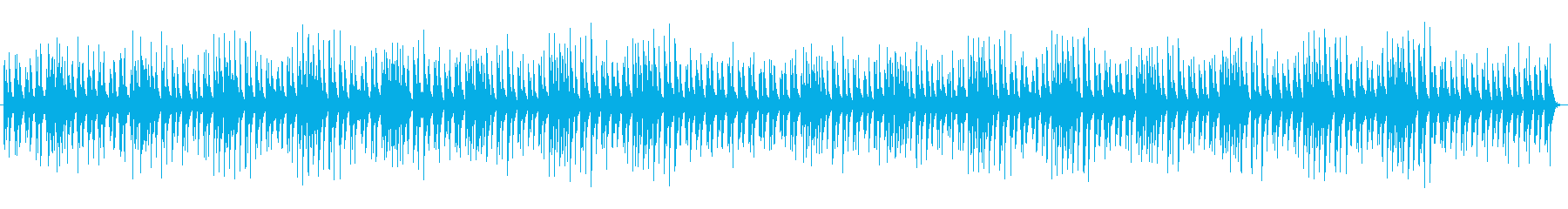 ピチカートのおどけた雰囲気の日常曲の再生済みの波形