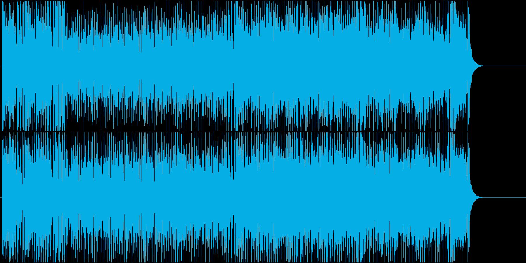 元気 CM 情報 PR 店内 アウトドアの再生済みの波形