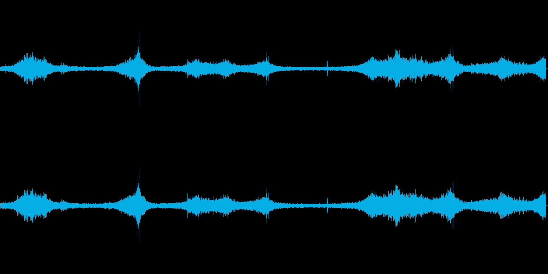 【生音】夏の日の通行音 - 11 「み…の再生済みの波形