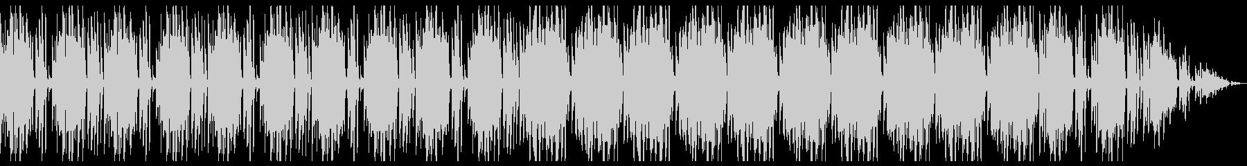 フルート 映像向け オシャレ ファンクの未再生の波形