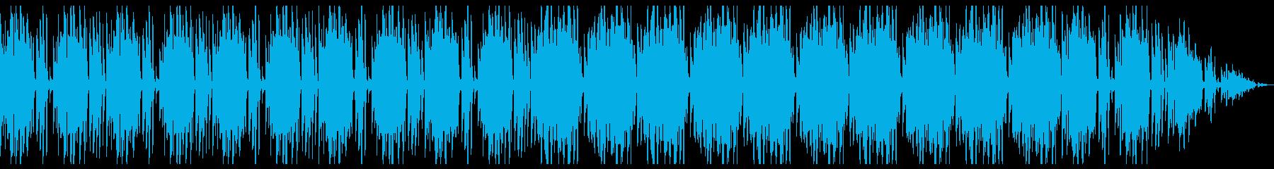 フルート 映像向け オシャレ ファンクの再生済みの波形