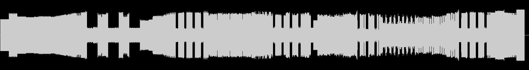 ヴィヴァルディ「冬」第1楽章8bitの未再生の波形