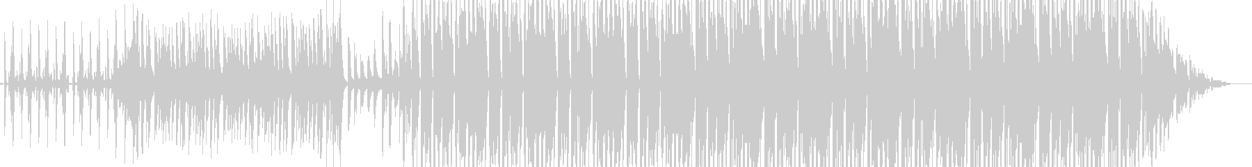 軽快なビートでのりのりな曲ですの未再生の波形