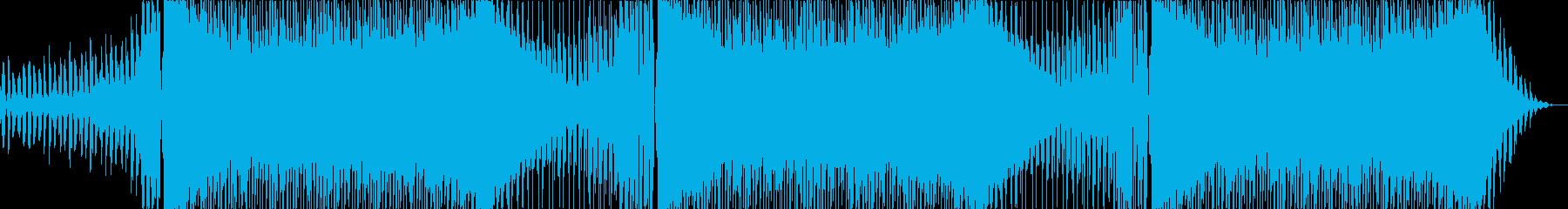 キャッチーで少しダークなEDMメロ無長尺の再生済みの波形