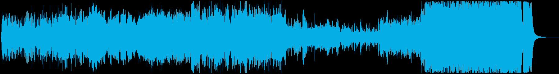 オーケストラ-希望-壮大な序奏の再生済みの波形