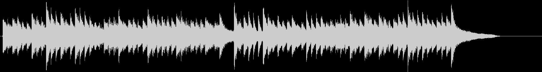 童謡・うれしいひなまつりピアノジングルFの未再生の波形