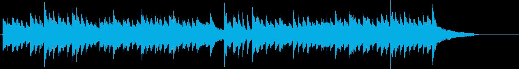 童謡・うれしいひなまつりピアノジングルFの再生済みの波形