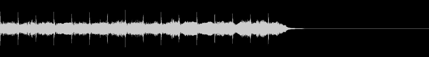 明るい雰囲気のアコーディオン ジングルの未再生の波形