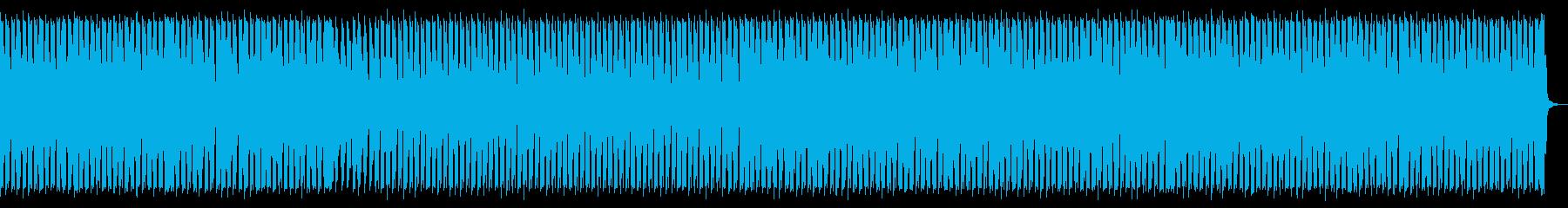 軽快でタイトなテクノビートの再生済みの波形