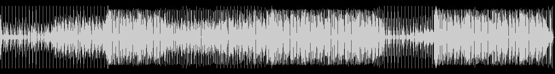 ジャミロクワイ風ファンキートラックの未再生の波形