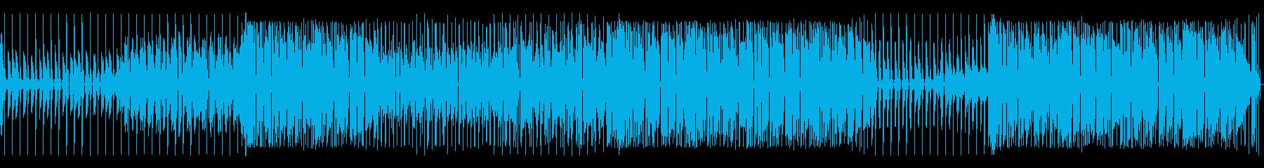 ジャミロクワイ風ファンキートラックの再生済みの波形