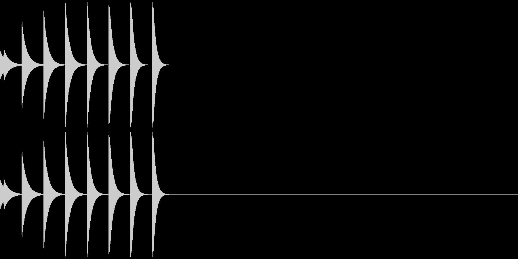 アイキャッチ/場面転換/ジングル/5-Aの未再生の波形