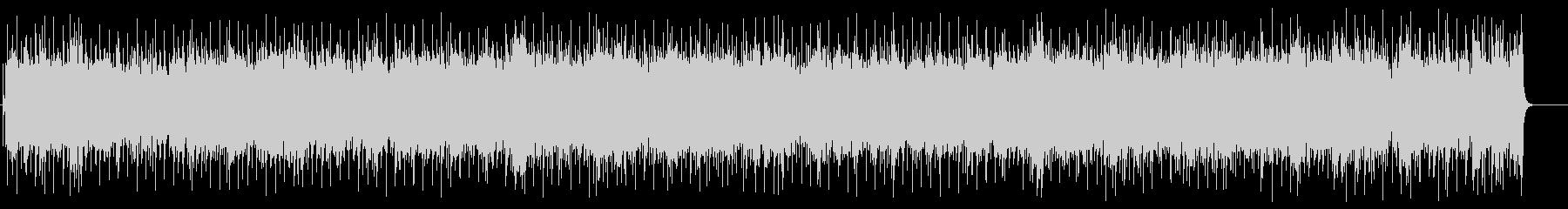 感動の終わりを迎える楽曲(フルサイズ)の未再生の波形