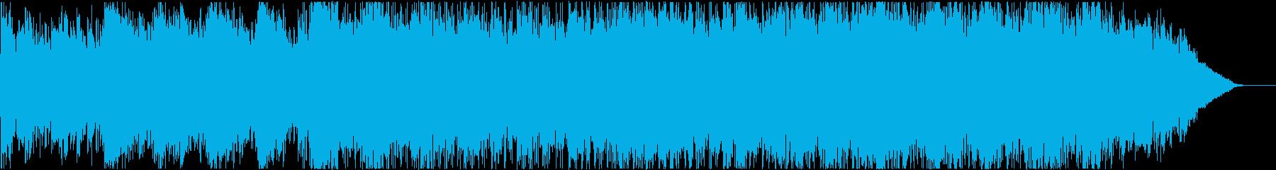 極上の開放感_思わず旅に出たくなるBGMの再生済みの波形
