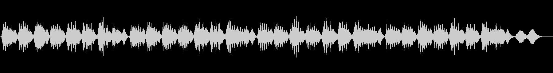 美しい弦楽四重奏の響きによる讃美歌461の未再生の波形