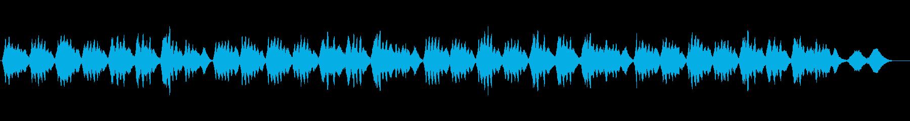 美しい弦楽四重奏の響きによる讃美歌461の再生済みの波形