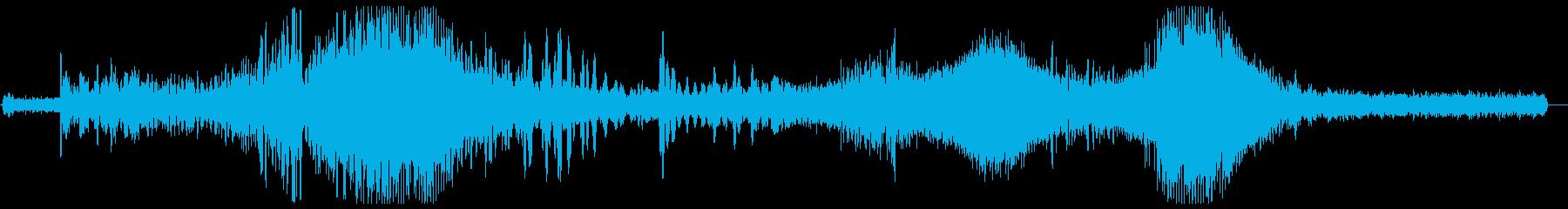シュワワ(謎の飛行物体)の再生済みの波形