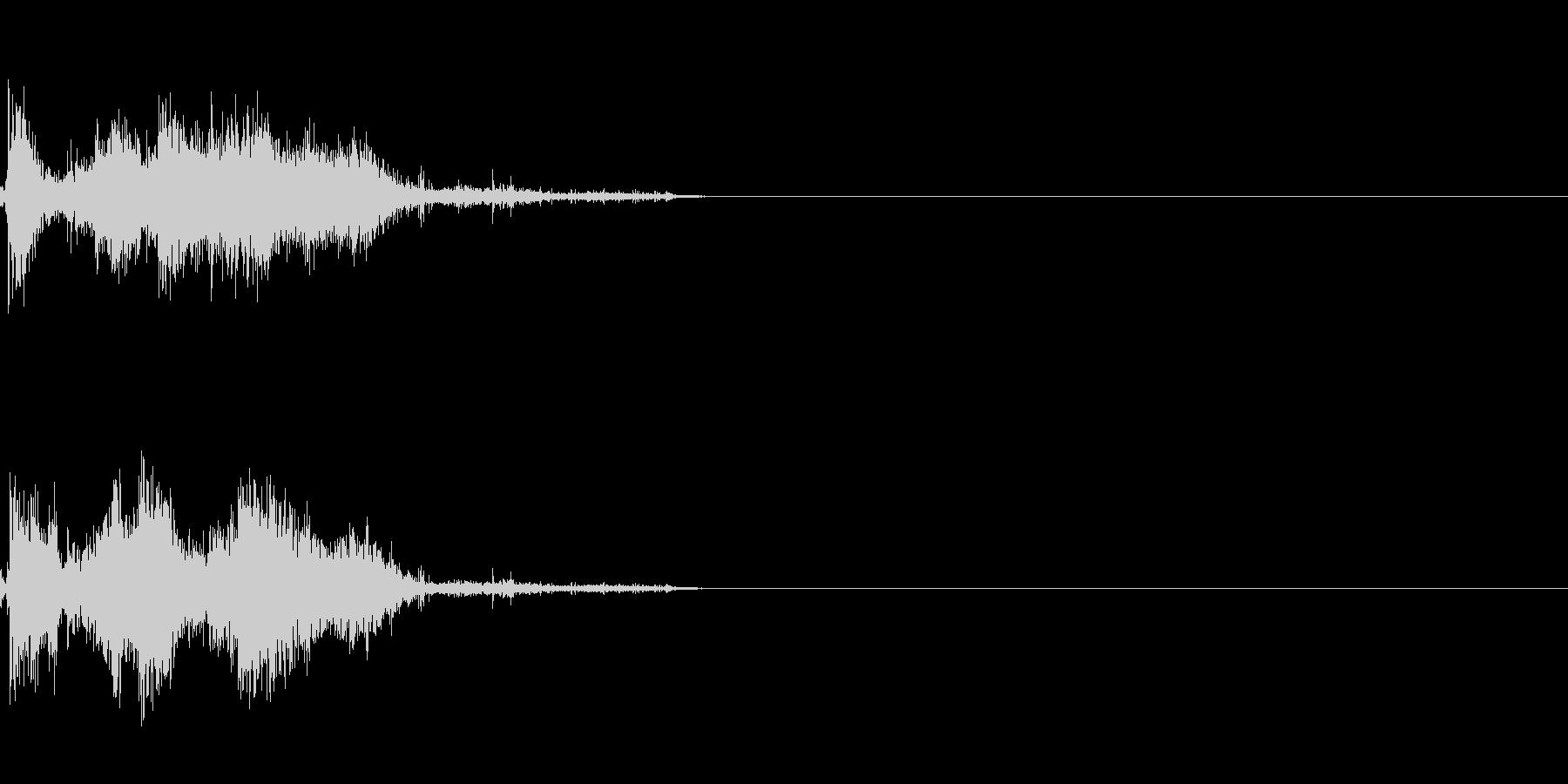 剣 攻撃音 3の未再生の波形