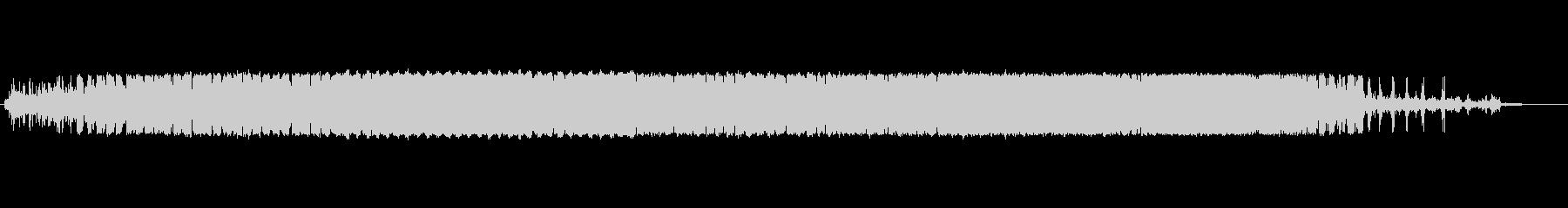 電動鉛筆削り:鉛筆削り、開始、実行、停止の未再生の波形