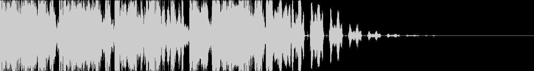ヒップホップ・DJスクラッチ・ジングルの未再生の波形