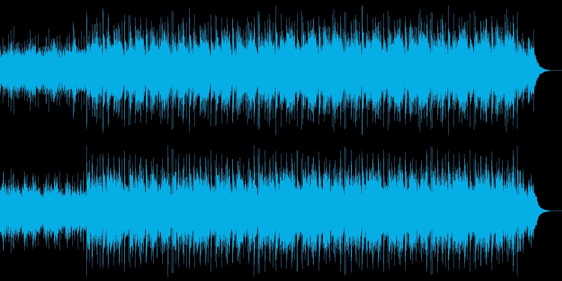 おだやかなサウンドの再生済みの波形