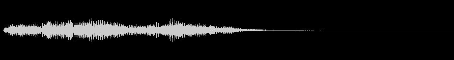 ショッキング(ホラー)4の未再生の波形