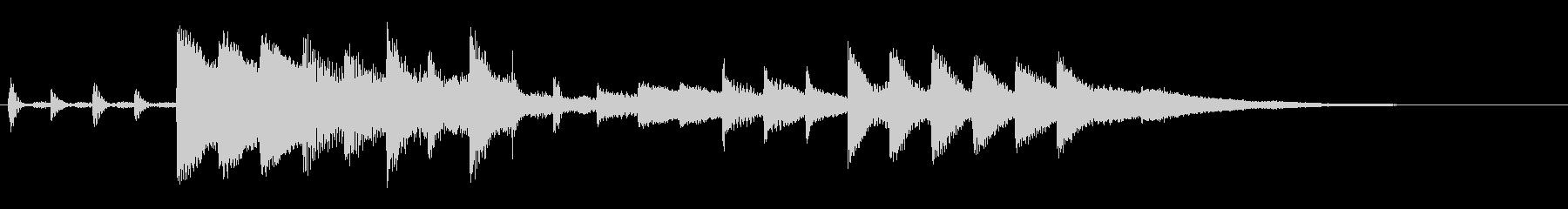 KANT近未来アラームサウンド247の未再生の波形