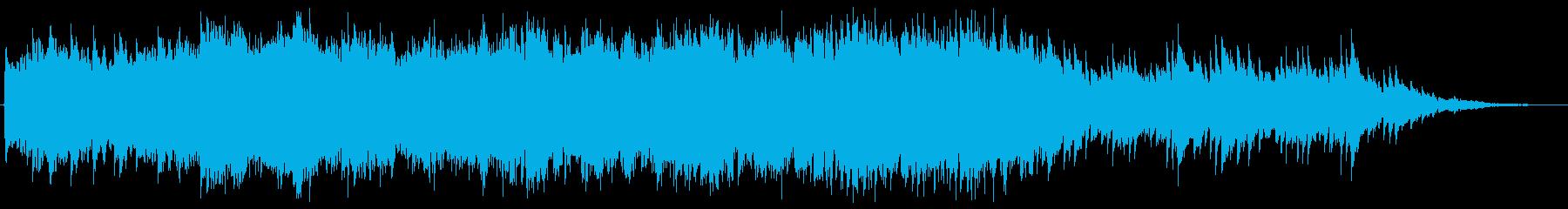 映像BGM(切ない、しっとり)の再生済みの波形