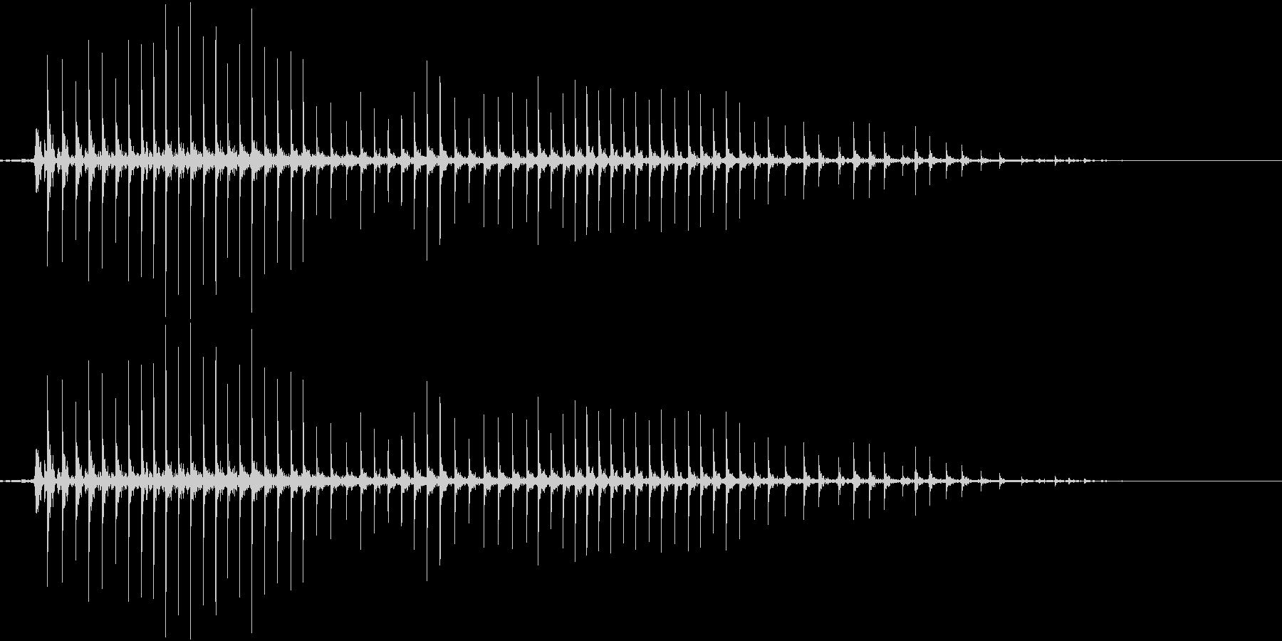 235_ホラー1の未再生の波形