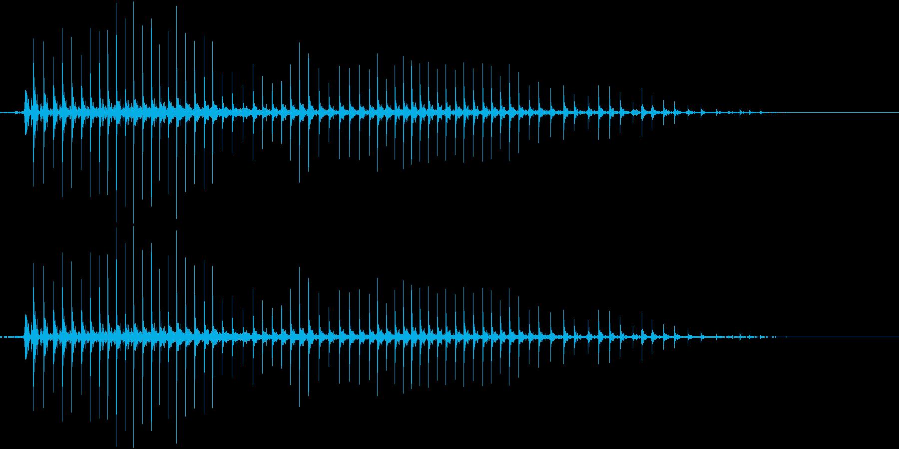 235_ホラー1の再生済みの波形