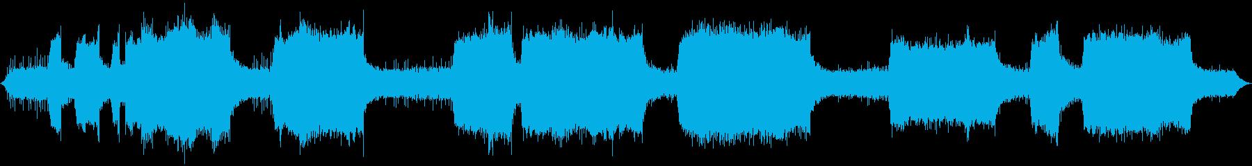 ストリングトリマー-操作の再生済みの波形