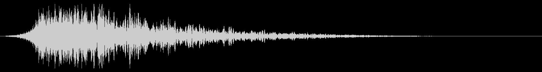 シュードーン-44-1(インパクト音)の未再生の波形