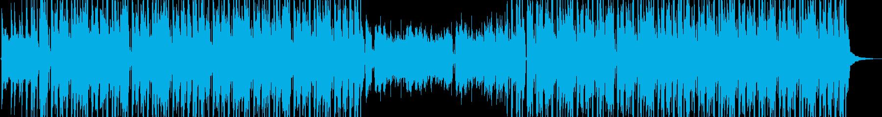 スタイリッシュなヒップホップの再生済みの波形