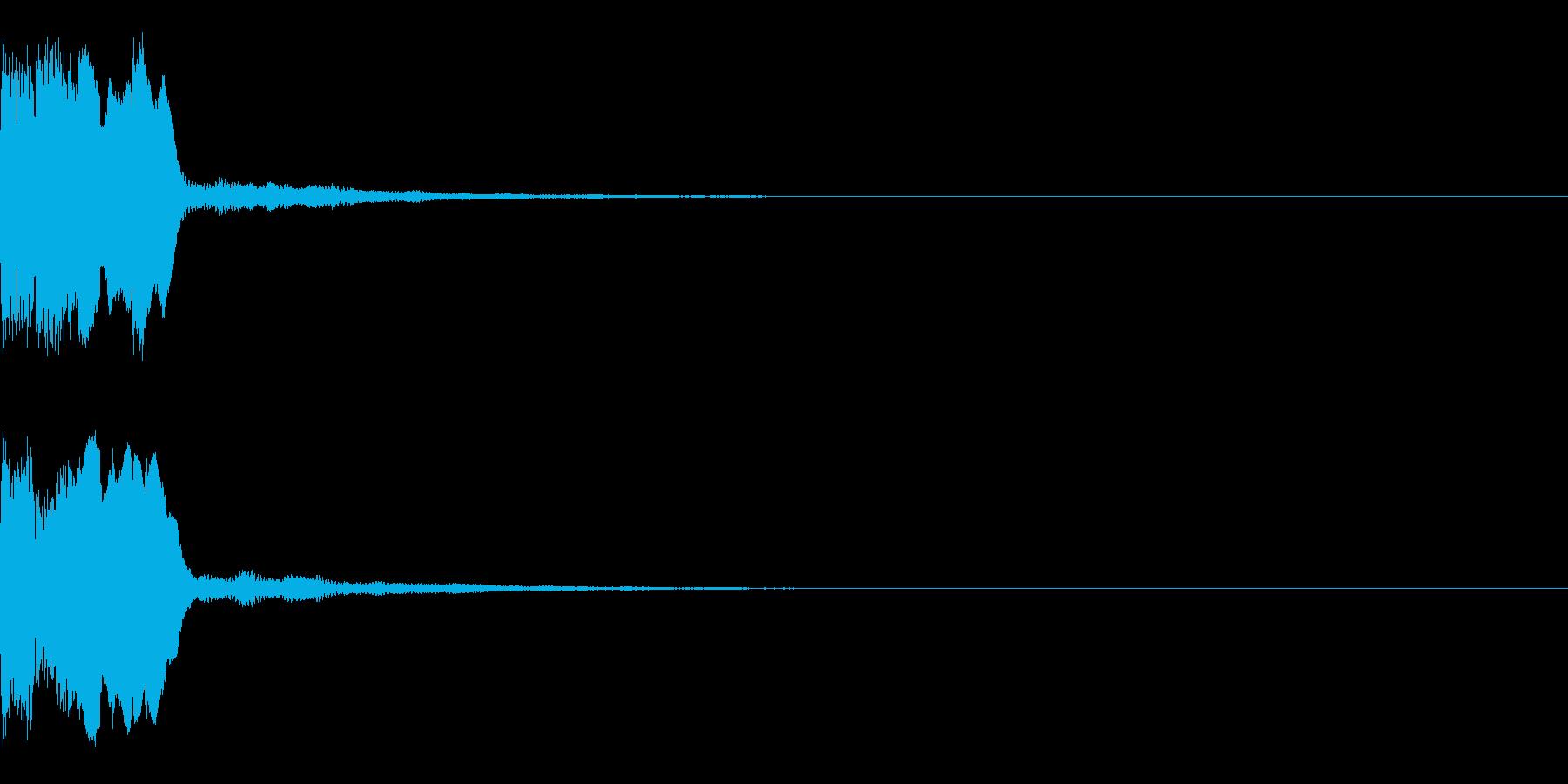 ティリンの再生済みの波形