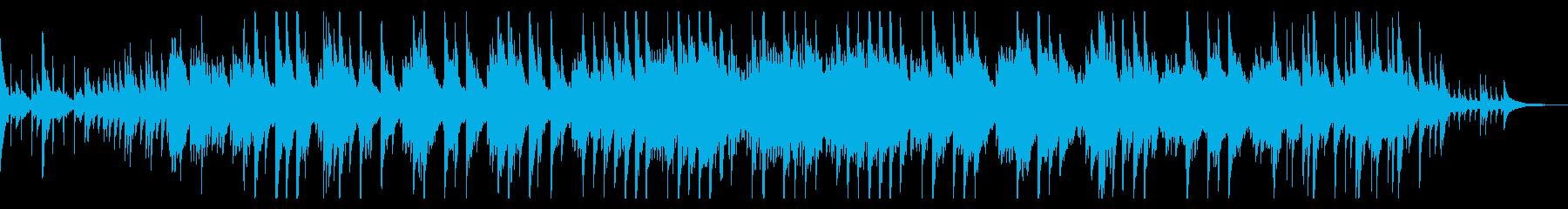 癒しの幸せ木漏れ日ピアノヒーリング音楽の再生済みの波形