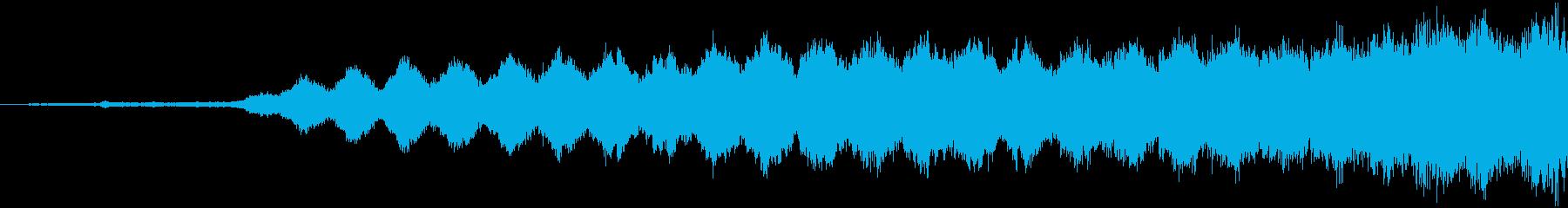 【映画演出】迫る危機感_ライザー_04の再生済みの波形