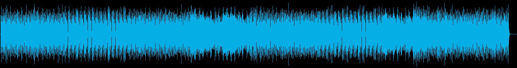 ミニマルでクールなテクノの再生済みの波形