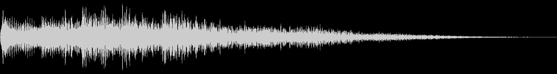 ハープの場面転換 CMイン 転回音 切替の未再生の波形