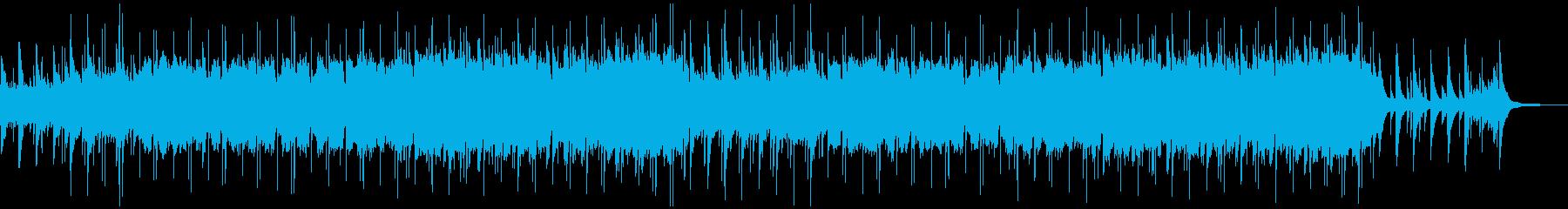 オーボエとピアノの哀愁漂うバラードの再生済みの波形