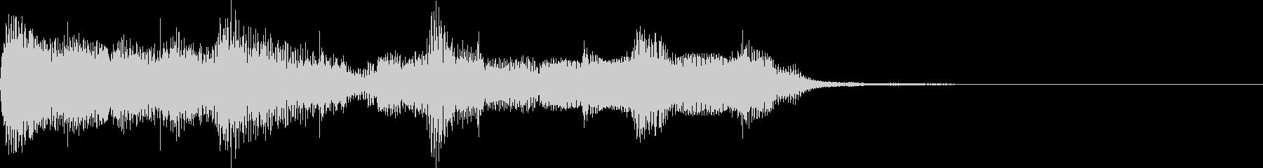 アラビア風・エスニックなジングルの未再生の波形