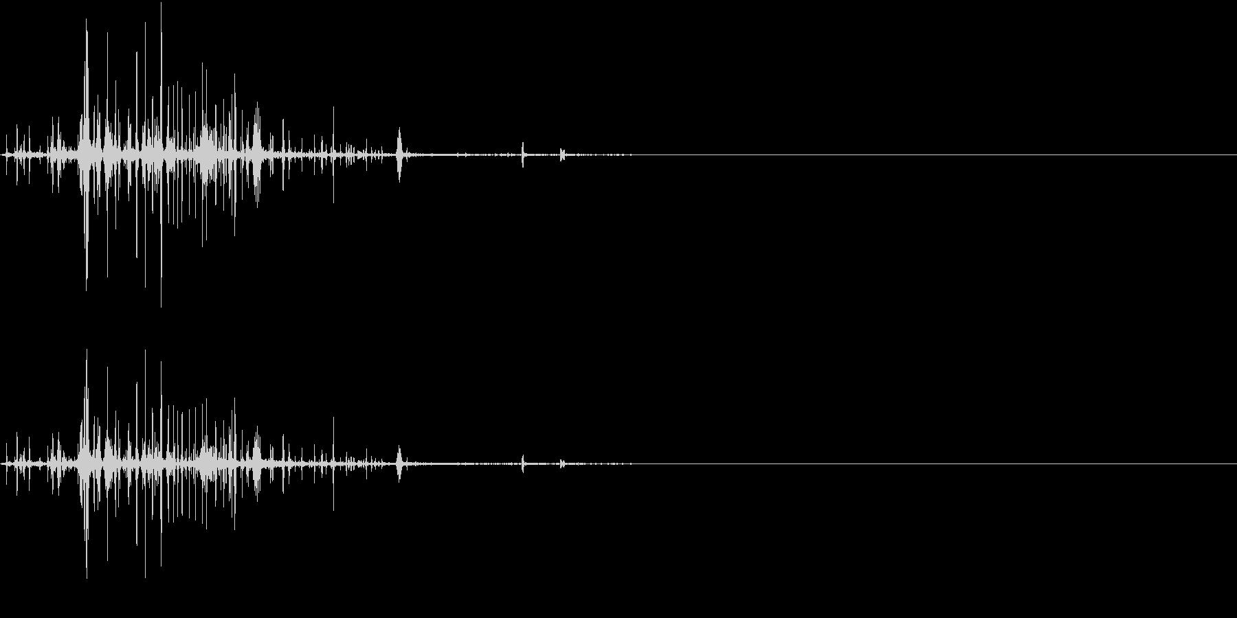 TsubureFX 内臓が潰れる音 2の未再生の波形