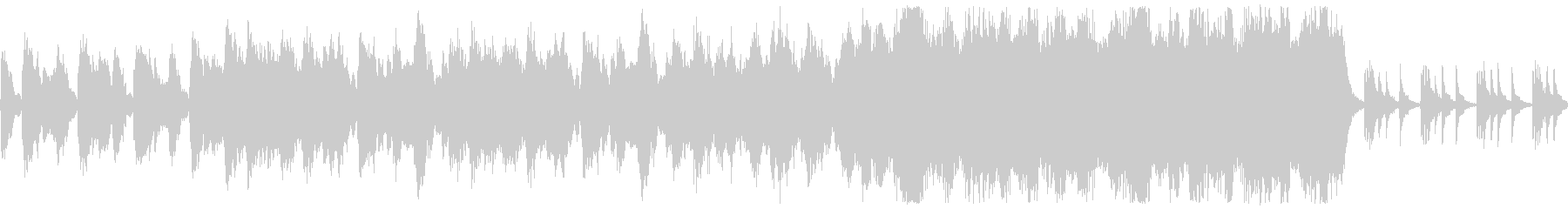 ゲームのタイトル画面系向けなBGMですの未再生の波形