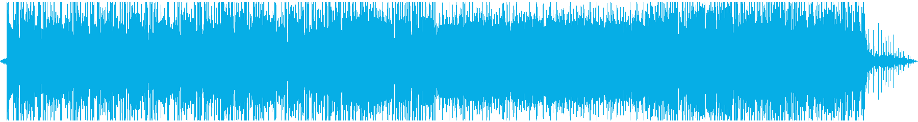 ハウス ダンス プログレッシブ ア...の再生済みの波形