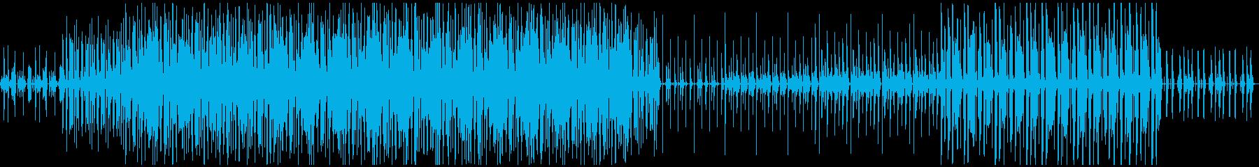 ループ可、ファンクBGMの再生済みの波形