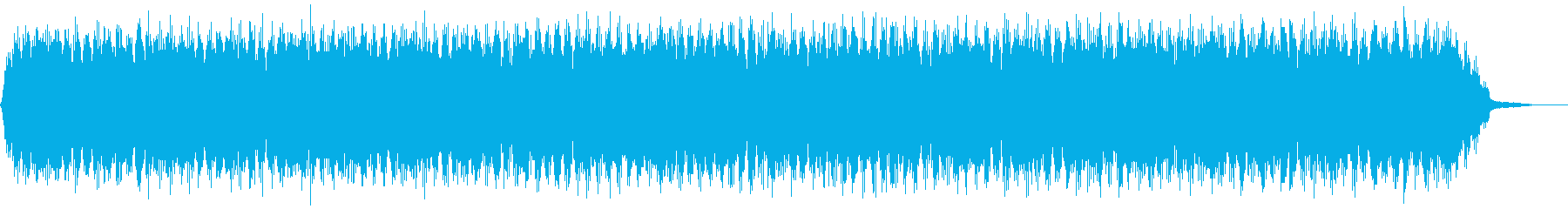 【アンビエント】ドローン_39 実験音の再生済みの波形