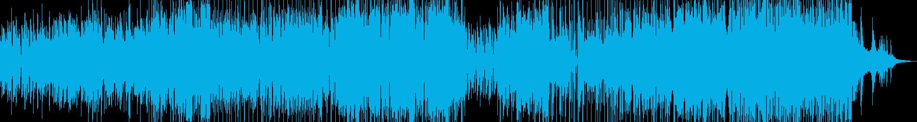 手風琴と木管・軽快で可憐なジャズ Aの再生済みの波形