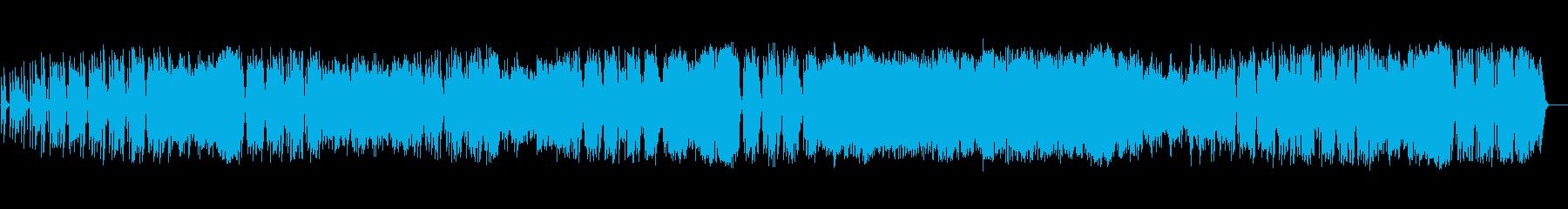 アップビートでダイナミックなトラッ...の再生済みの波形