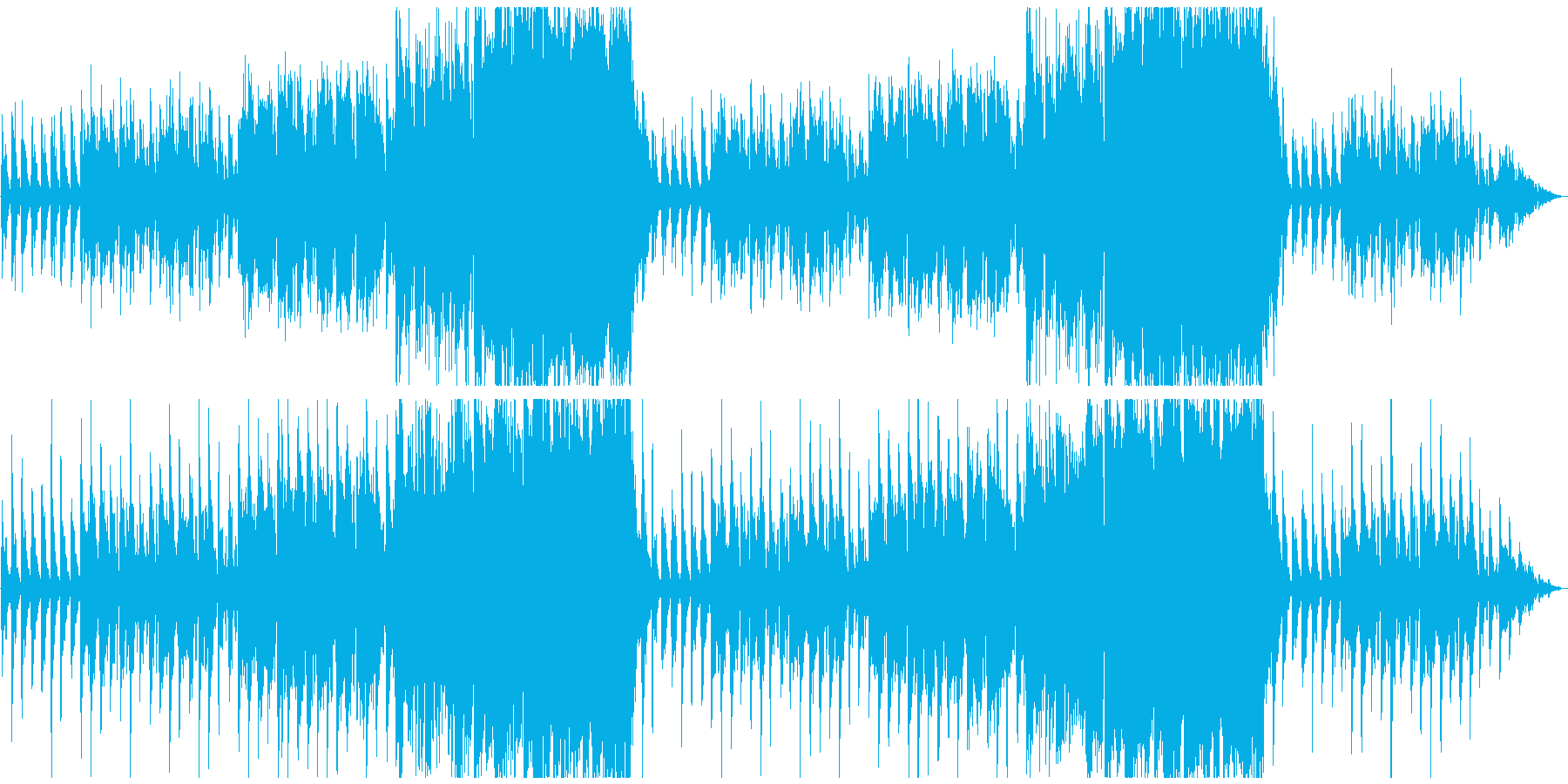Music using Irish and Celtic instruments's reproduced waveform