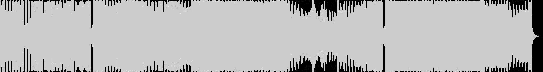 ファンク要素のあるダンスBGMの未再生の波形