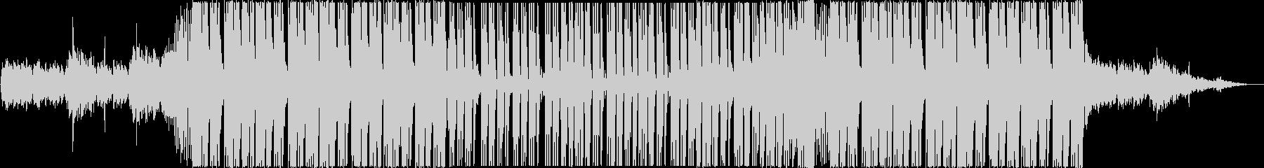 ゆったりとしたトロピカルハウスEDMの未再生の波形
